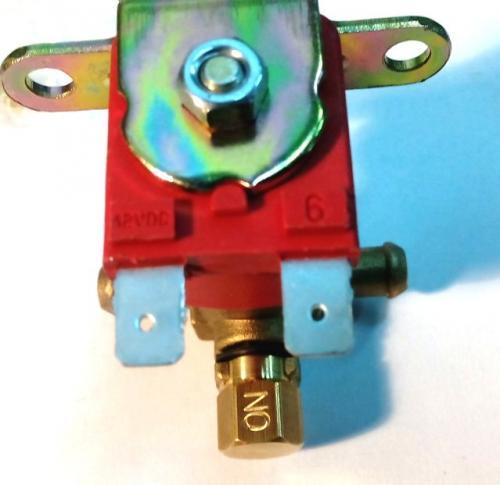 Электромагнитный клапан для бензина 12 вольт